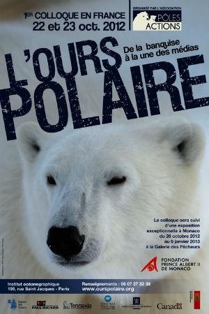 colloque ours polaire affiche