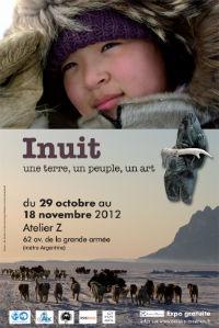 Affiche expo inuit novembre 2012