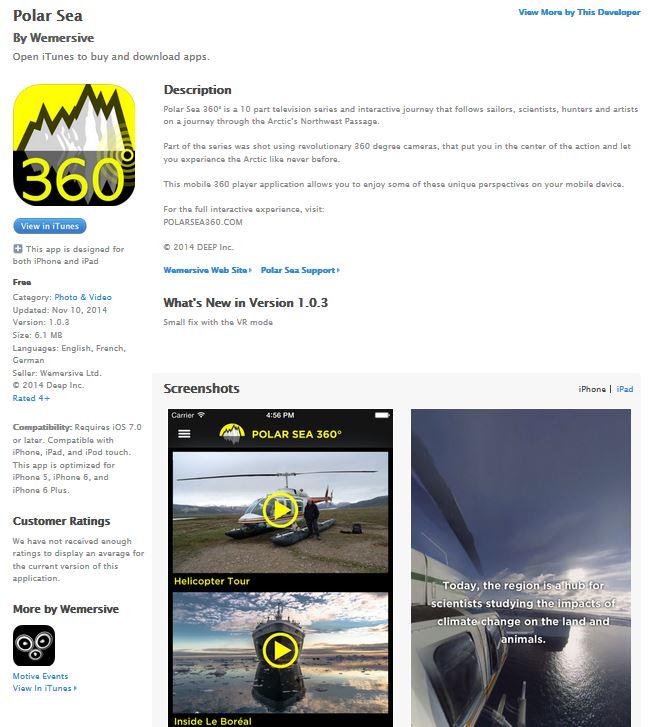 Arte 360 appli