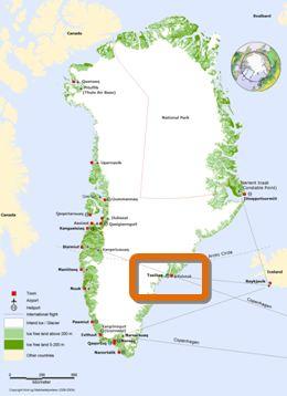 Groenland EST