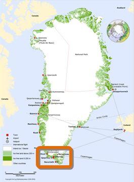 Groenland SUD