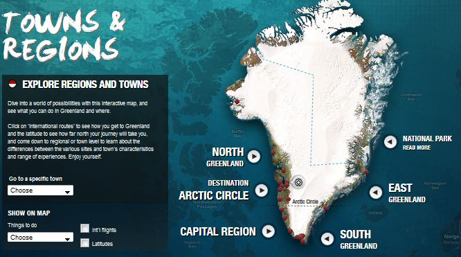 Map greenland.com