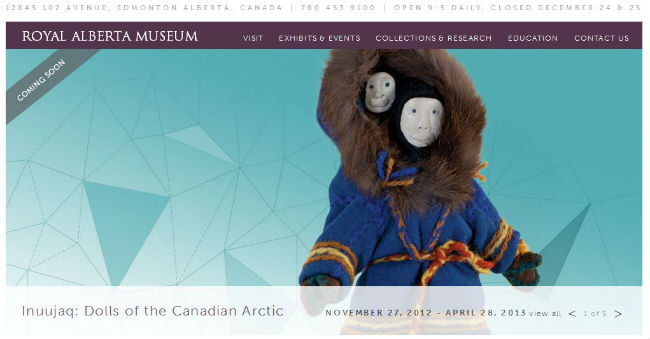 Musée Canada expo poupées inuit